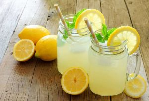 What are benefits of drinking lemon water