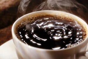 caffeine and sweating